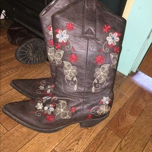 Cow girl boots